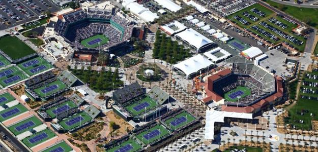 Indian Wells, posible sede del US Open 2020. Foto: gettyimages