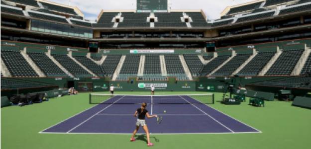 Indian Wells Tennis Garden. Fuente: Getty