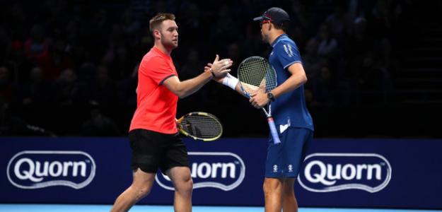 Jack Sock en Nitto ATP Finals 2018. Foto: zimbio