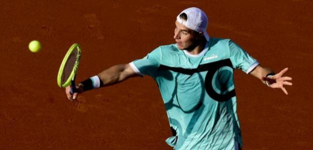 Jan-Lennard Struff en ATP 500 Conde de Godó 2019, Rafael Nadal. Foto: zimbio