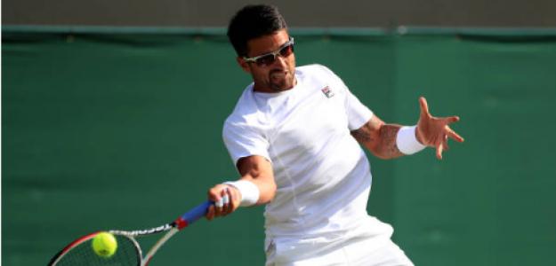 Janko Tipsarevic, durante Wimbledon 2019. Fuente: Getty