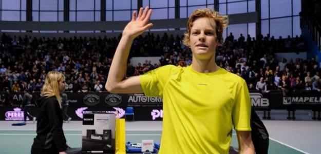 Jannik Sinner del ATP Challenger Tour. Foto: zimbio
