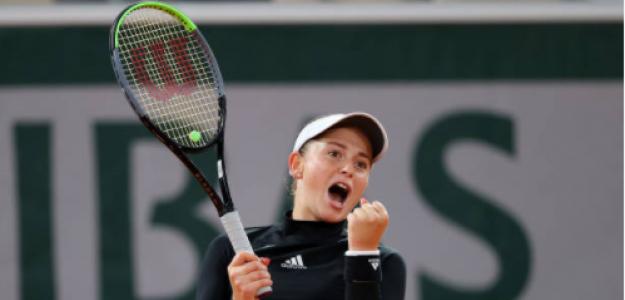 Jelena Ostapenko y su candidatura al título. Foto: gettyimages