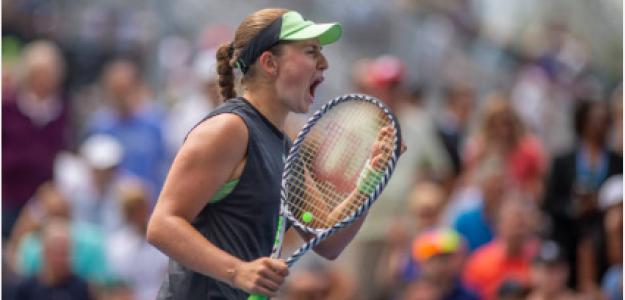 Jelena Ostapenko en US Open 2019. Foto: gettyimages