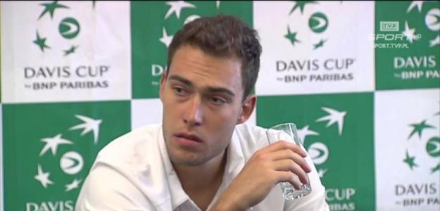 Jerzy Janowicz. Foto: Copa Davis