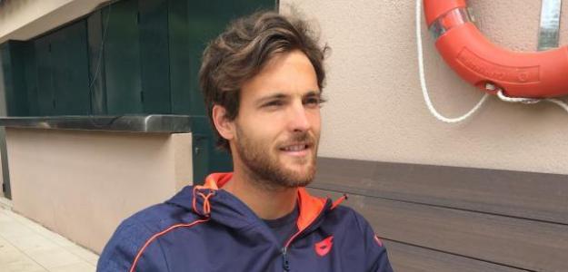 Joao Sousa durante la entrevista con Fernando Murciego. Fuente: Punto de Break