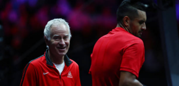 John McEnroe habla de Nick Kyrgios. Foto: gettyimages