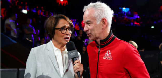 John McEnroe se queja formato Laver Cup 2019. Foto. gettyimages