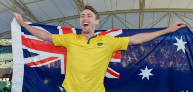 John Millman, propuesta tenis australiano. Foto: gettyimages