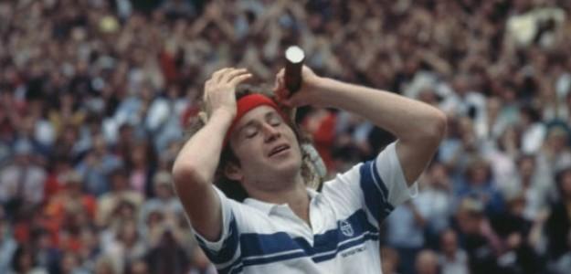 John McEnroe, uno de los 'qualys' más famosos en la historia de Wimbledon. Foto: Getty