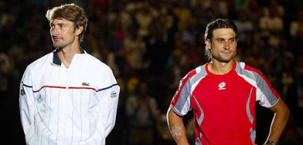 Juan Carlos Ferrero y David Ferrer, amigos y rivales. Fuente: Getty