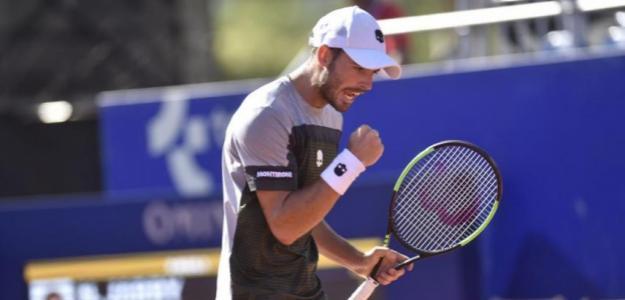 Juan Londero en ATP 250 Cordona 2019. Foto: zimbio