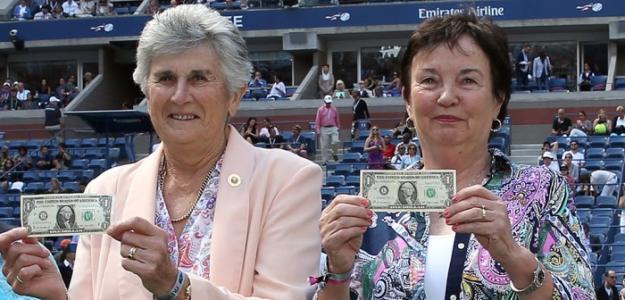 Judy Tegart Dalton y Kerry Melville Reid. Foto: tennismash