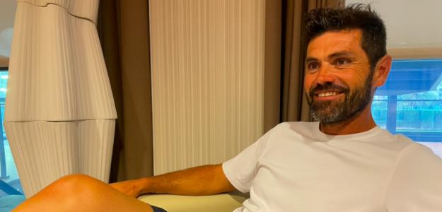 Julián Alonso en el Sporting Club de Tenis. Fuente: PDB