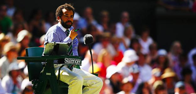 Kader Nouni en Wimbledon. Fuente: Getty
