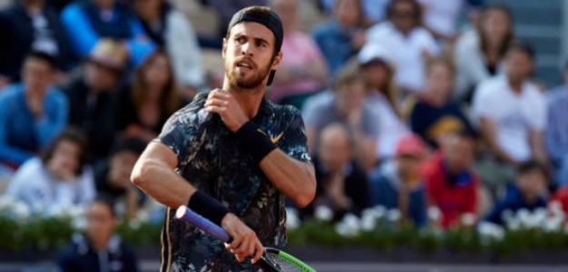 El ruso tumbó a Del Potro para colarse en sus primeros cuartos en Roland Garros. Foto: Getty