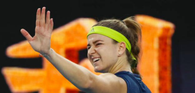 Karolina Muchova elimina a Barty en Australia. Fuente: Getty