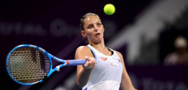 Karolina Pliskova carga contra Federer. Foto: gettyimages