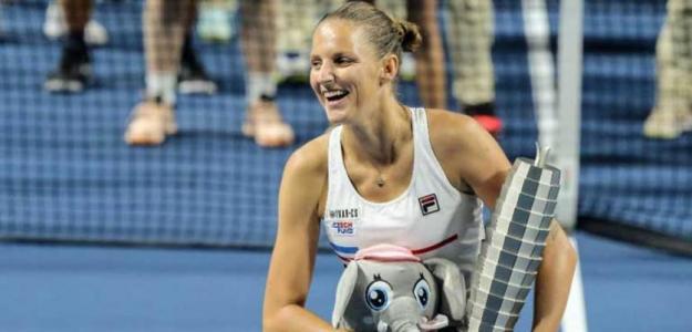 Karolina Pliskova busca el número 1 en gira asiática 2019. Foto: gettyimages