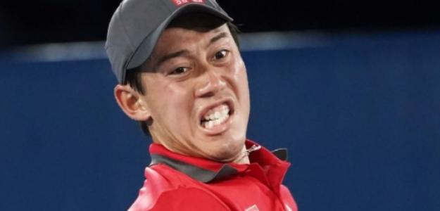 Nishikori, entre el sueño de un país y la dificultad que supone Djokovic. Foto: Getty