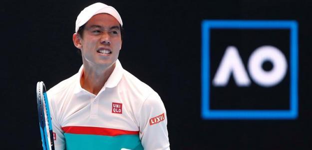 Kei Nishikori en Open Australia 2019, Pablo Carreño. Foto: zimbio