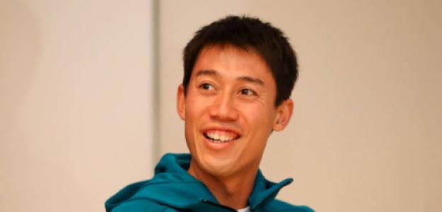 Kei Nishikori es el rey del tercer set. Fuente: Getty