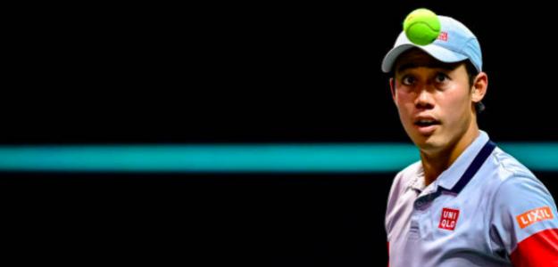Kei Nishikori esta temporada. Fuente: Getty