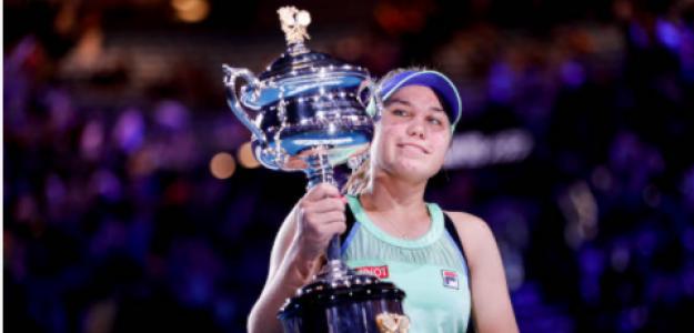 Sofia Kenin, campeona en Australia. Fuente: Getty