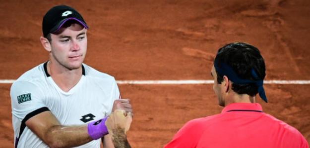 """Koepfer: """"Aún con 39 años, Federer sigue increíblemente en forma"""". Foto: Getty"""