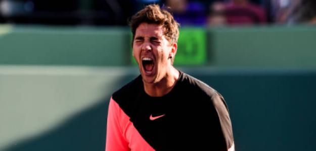 Kokkinakis sorprendió a Federer en Miami. Fuente: Getty