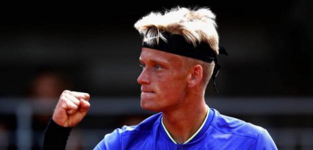 El español inauguró su casillero de victorias ATP.