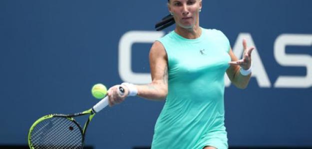 Kuznetsova en competición. Foto: lainformacion.com