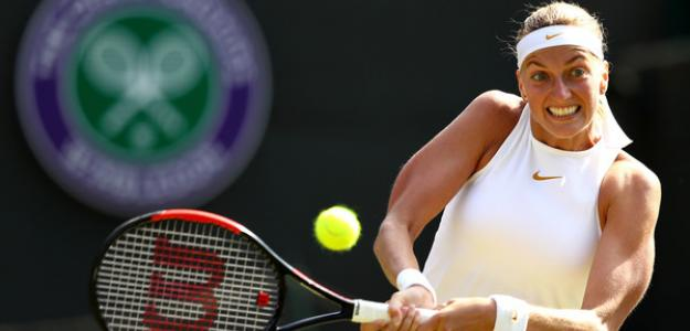 Petra Kvitova debutará ante Kontaveit en Montreal. Foto: Zimbio