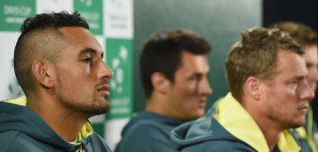 Nick Kyrgios, convocado por Lleyton Hewitt para Copa Davis 2019. Foto: gettyimages