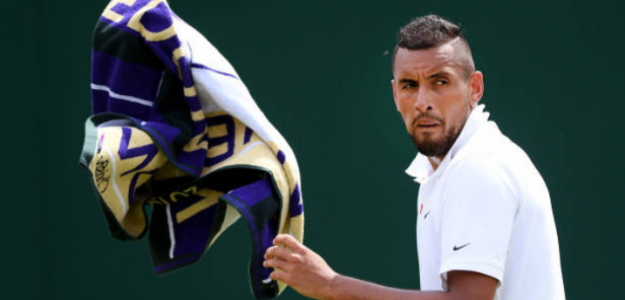 Kyrgios habla sobre Nadal, su próximo rival en Wimbledon. Foto: Getty