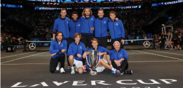 Declaraciones Team Europe ganadores Laver Cup 2021. Foto: gettyimages