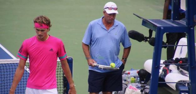 Lendl y Zverev en el US Open. Foto: Tennis.Life