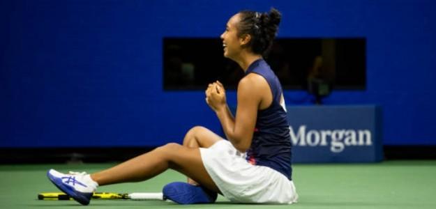 Leylah Fernandez. Foto: Getty Images