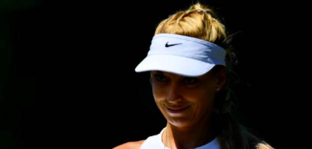 Sabine Lisicki durante su último torneo en Wimbledon. Fuente: Getty