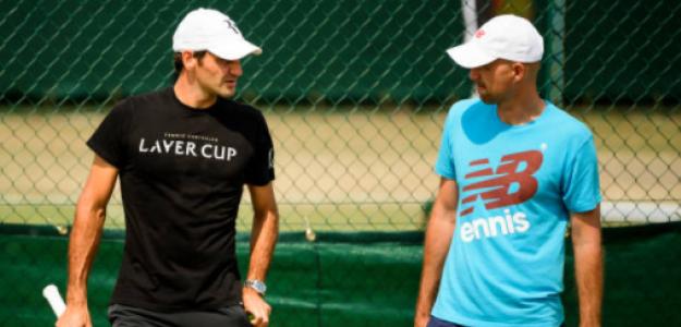 Ivan Ljubicic habla de objetivos de Roger Federer. Foto: gettyimages