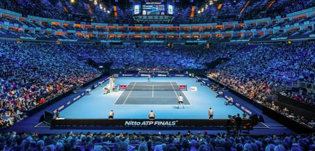 El O2 Arena durante las finales ATP.