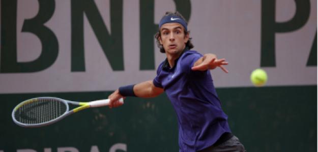 Lorenzo Musetti habla de Novak Djokovic. Foto: gettyimages