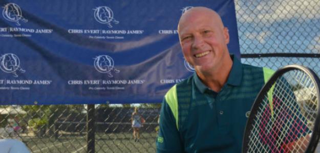 Luke Jensen, el tenista ambidiestro. Fuente: Getty