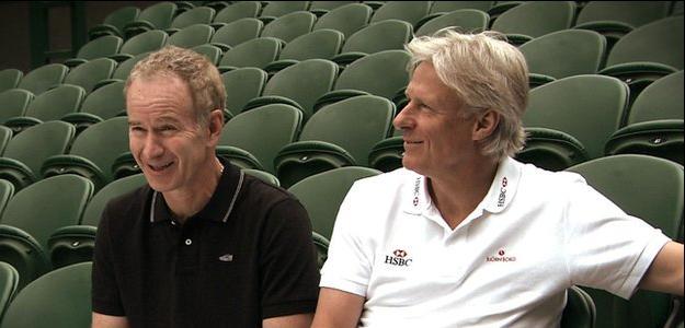 McEnroe y Borg