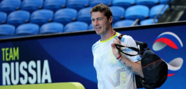 Marat Safin, durante la ATP Cup. Fuente: Getty