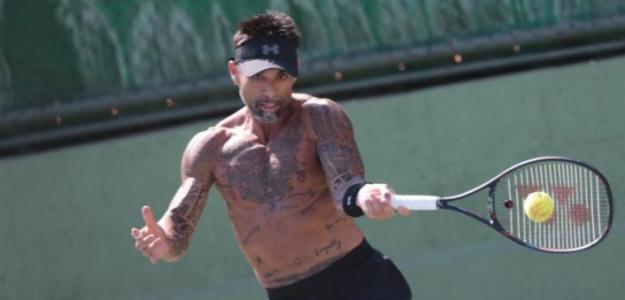 Marcelo Ríos quiere disputar un torneo Challenger en 2019. Foto: Twitter