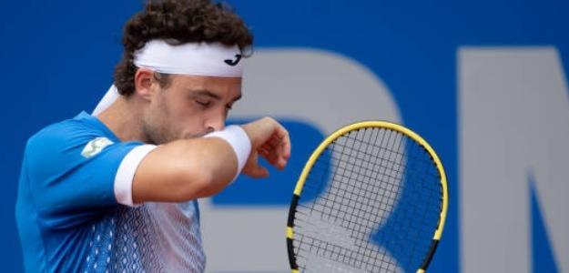 Marco Cecchinato necesita sumar victorias para escapar a su mal momento. Foto: Getty