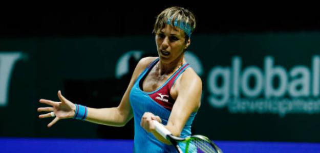 María José Martínez, retirada del tenis profesional. Foto: gettyimages