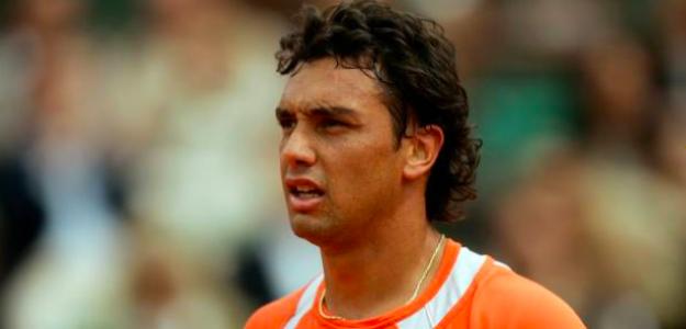 Mariano Puerta en Roland Garros 2005. Fuente: Getty