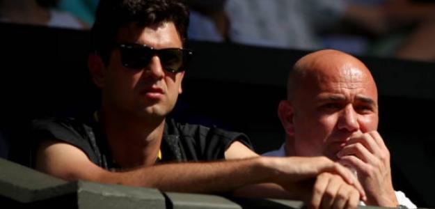 El croata estuvo hace un tiempo en el equipo de trabajo de Djokovic para Wimbledon. Foto: Getty